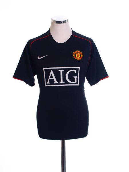 2007-08 Manchester United Away Shirt XL - 238347-010