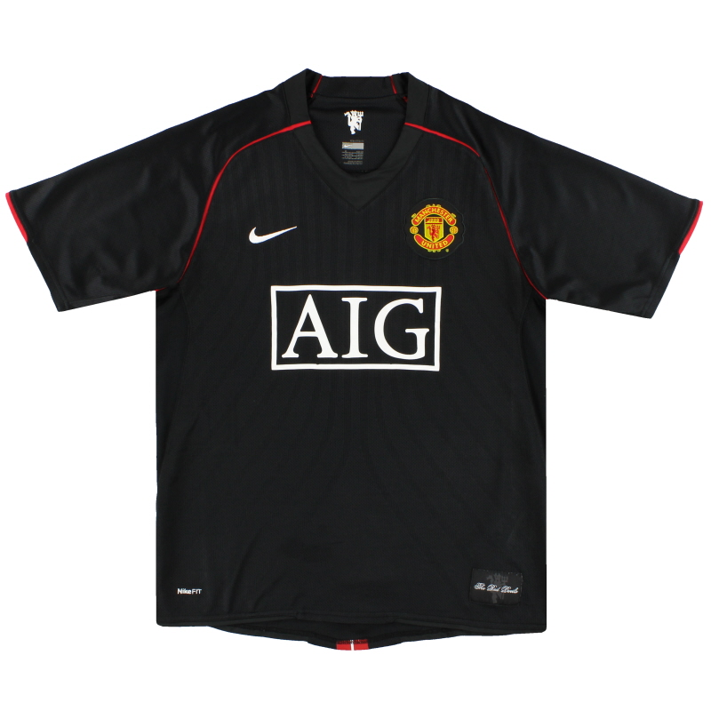 2007-08 Manchester United Nike Away Shirt XXXL - 238347-010