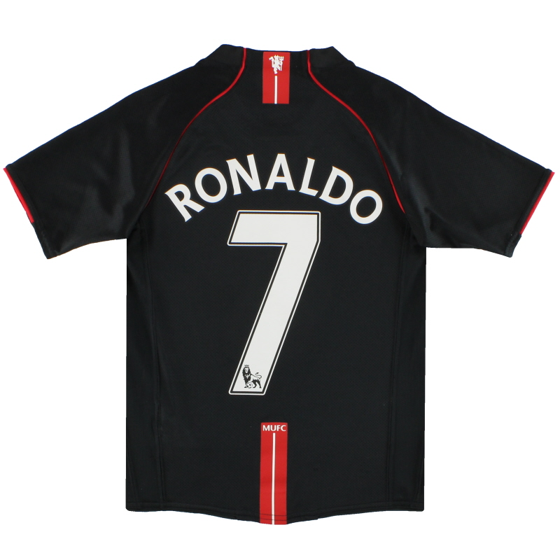 2007-08 Manchester United Nike Away Shirt Ronaldo #7 M.Boys - 245433-010