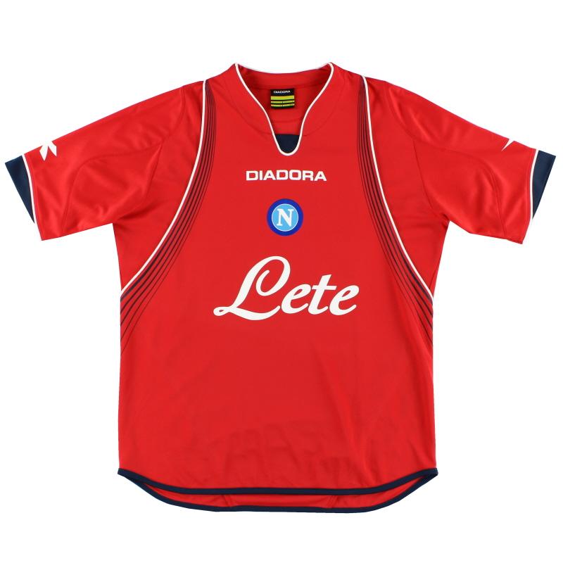 2007-08 Napoli Away Shirt M