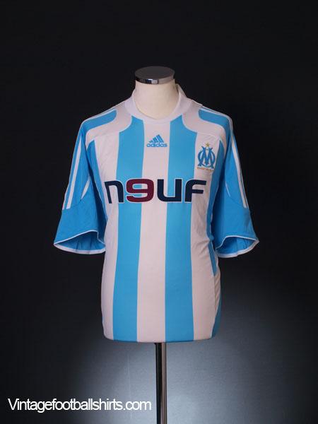 2007-08 Olympique Marseille Away Shirt XL