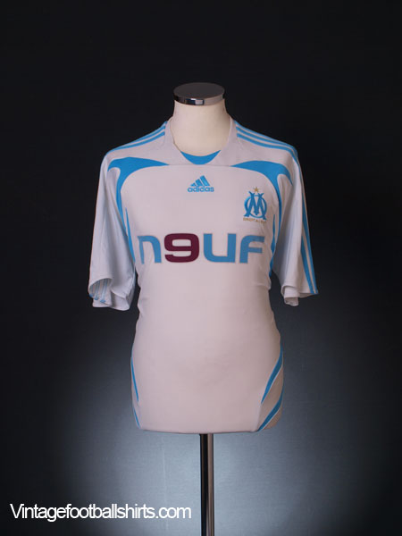 2007-08 Olympique Marseille Home Shirt L