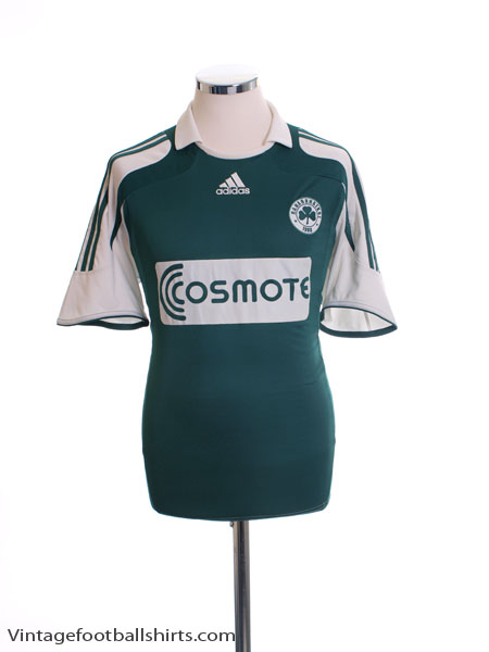 2007-08 Panathinaikos Home Shirt *BNWT*