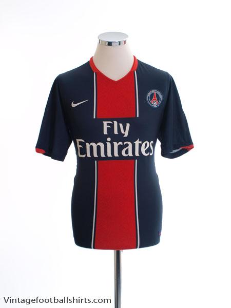 2007-08 Paris Saint-Germain Home Shirt S