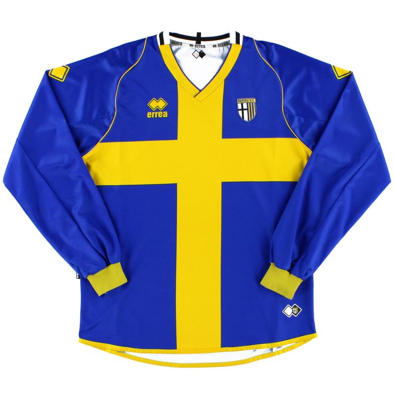 2007-08 Parma Away Shirt L/S XL