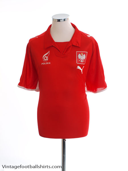 2007-08 Poland Away Shirt XL