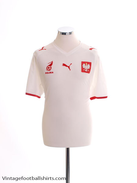 2007-08 Poland Home Shirt M