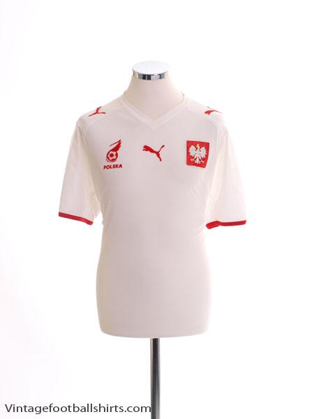 2007-08 Poland Home Shirt L