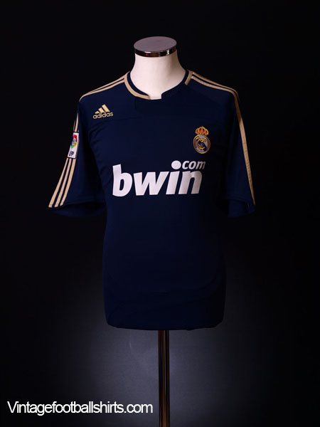 2007-08 Real Madrid Away Shirt M