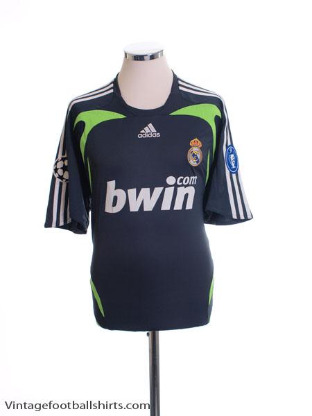 2007-08 Real Madrid Champions League Third Shirt *BNWT* L