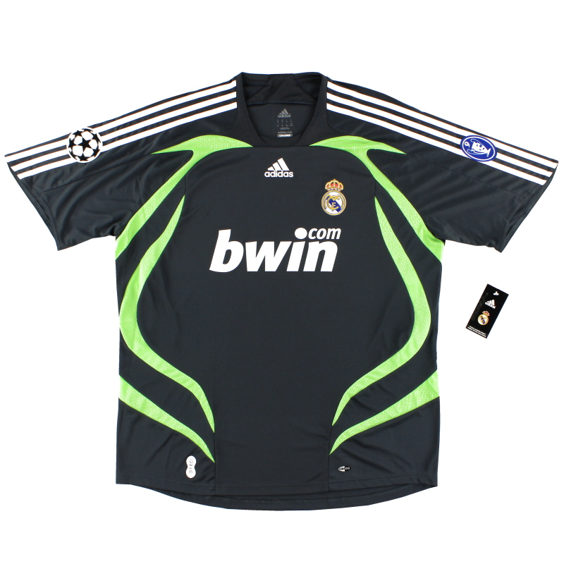 2007-08 Real Madrid Champions League Third Shirt *BNWT* XL