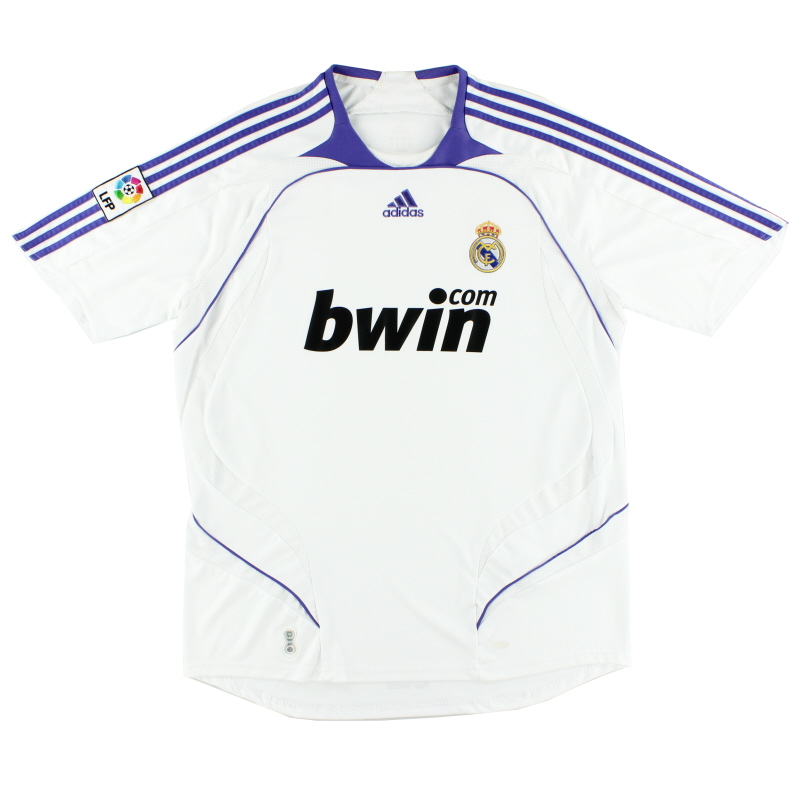 2007-08 Real Madrid Home Shirt M - 697327