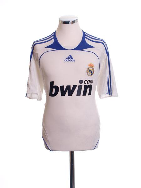 2007-08 Real Madrid Home Shirt M - 697327