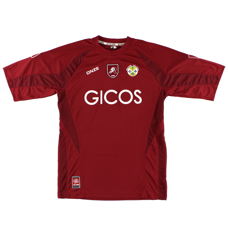 2007-08 Reggina Home Shirt XL