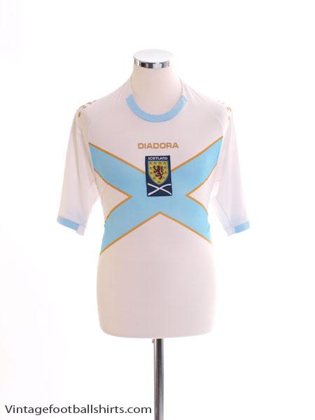 2007-08 Scotland Away Shirt S