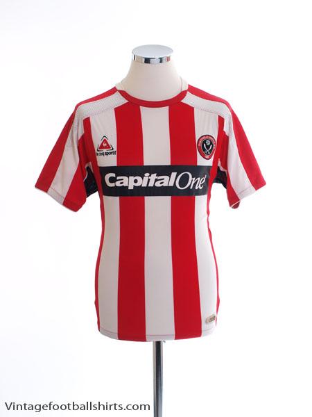 2007-08 Sheffield United Home Shirt M