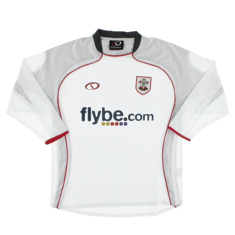 2007-08 Southampton Third Shirt L/S M