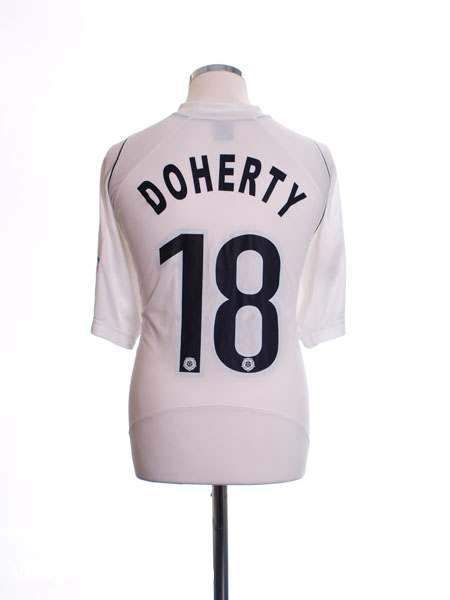 2007-08 Southport Match Issue Away Shirt Doherty #18 XL