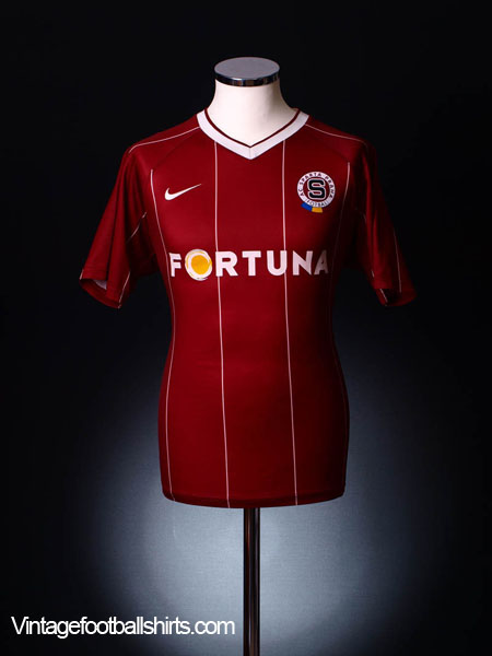 2007-08 Sparta Prague Home Shirt S