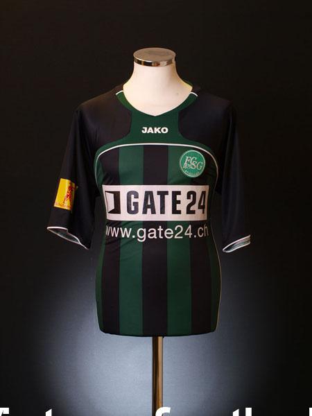 2007-08 St Gallen Home Shirt M/L