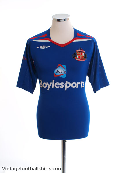 2007-08 Sunderland Third Shirt L