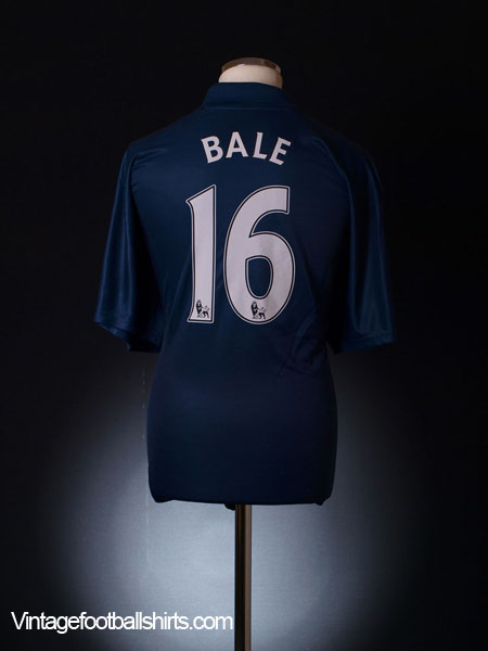 2007-08 Tottenham Away Shirt Bale #16 XXL