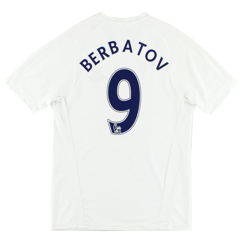 2007-08 Tottenham Home Shirt Berbatov #9 S