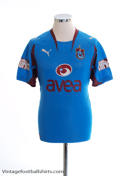 2007-08 Trabzonspor Fourth Shirt *Mint* M