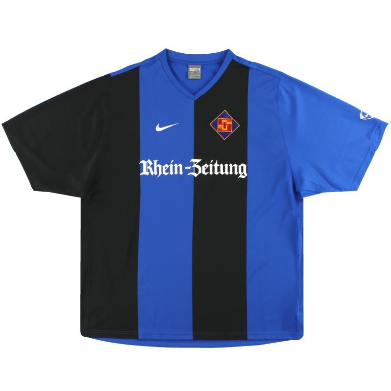 2007-08 TuS Koblenz Nike Home Shirt *Mint* XXL - 202870-464