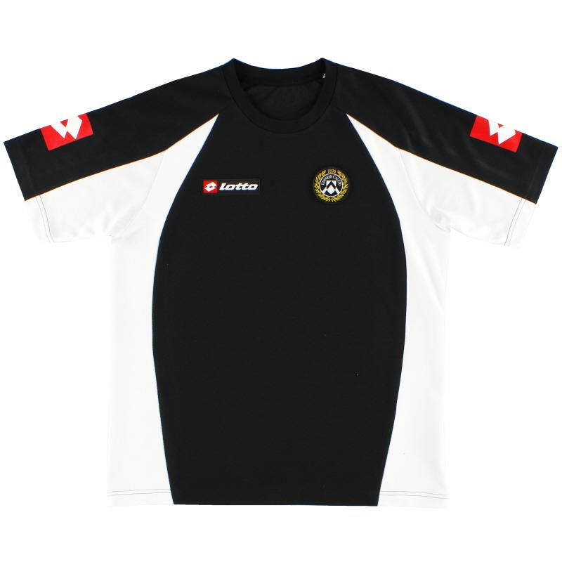 2007-08 Udinese Lotto Training Shirt S