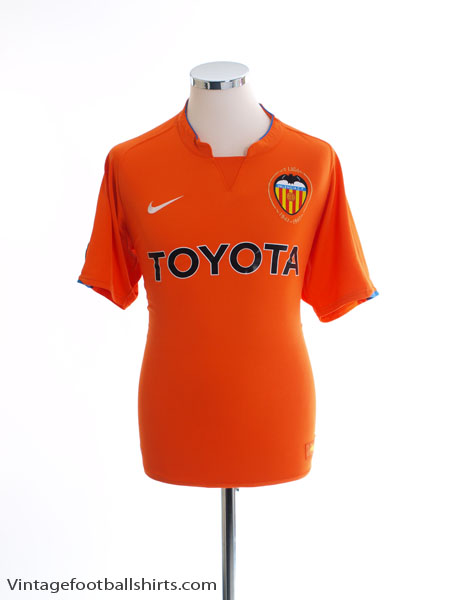 2007-08 Valencia Away Shirt M - 237782-815