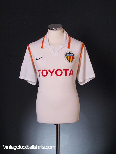 2007-08 Valencia Home Shirt M