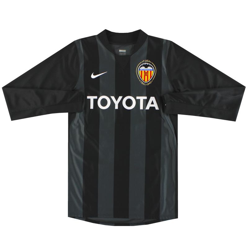 2007-08 Valencia Nike Player Issue Goalkeeper Shirt *Mint* S