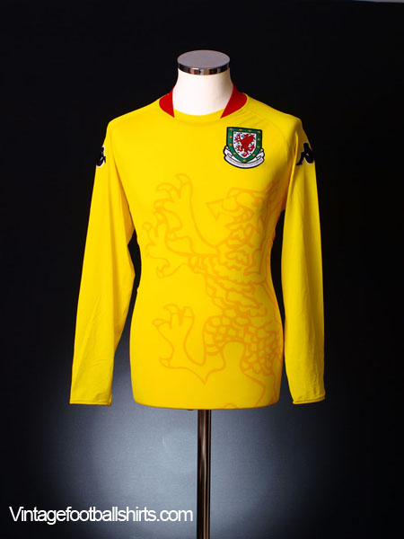 2007-08 Wales Away Shirt *BNWT* L/S XXL