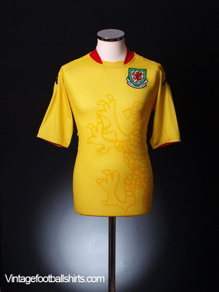 2007-08 Wales Away Shirt XL