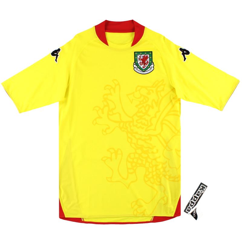 2007-08 Wales Kappa Player Issue Away Shirt *w/tags* XXL