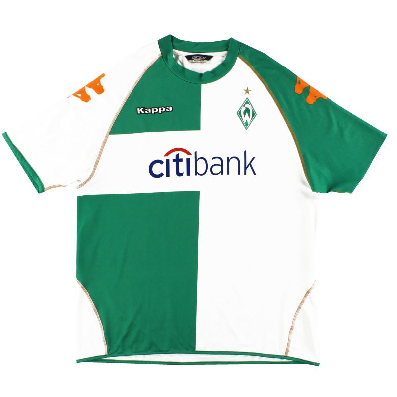 2007-08 Werder Bremen Away Shirt XXXL
