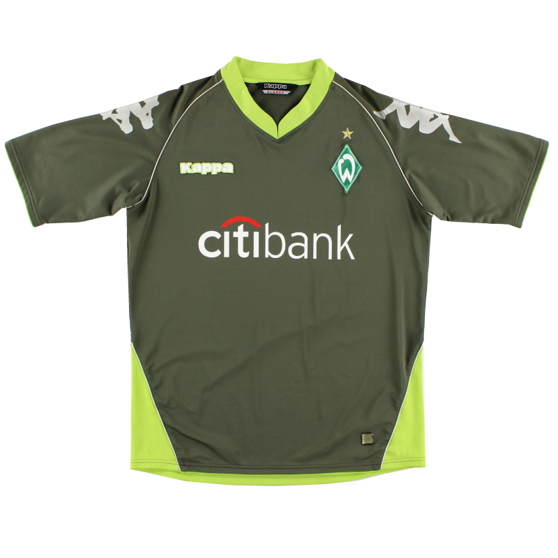 2007-08 Werder Bremen Away Shirt *Mint* XL