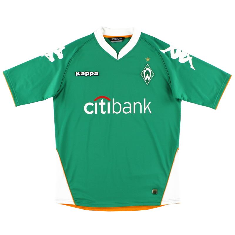 2007-08 Werder Bremen Home Shirt L
