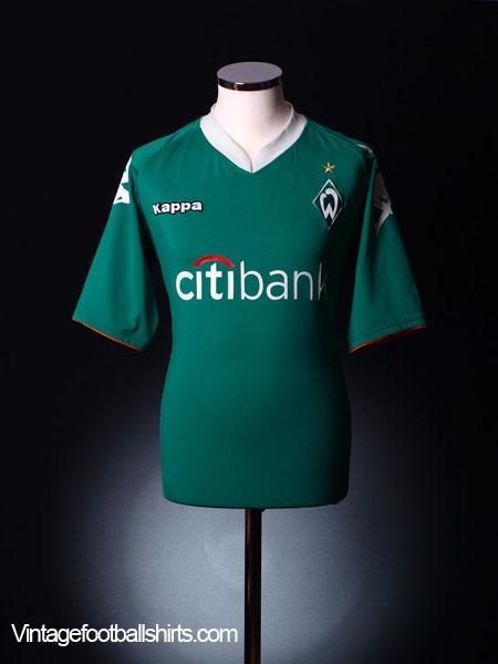 2007-08 Werder Bremen Home Shirt M