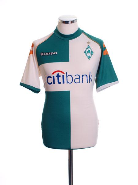 2007-08 Werder Bremen Third Shirt M