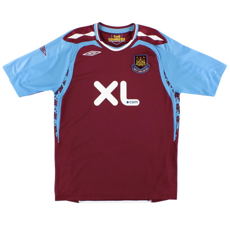 2007-08 West Ham Umbro Home Shirt M
