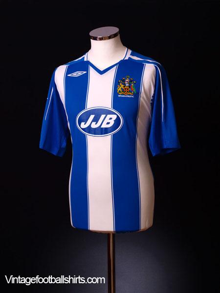 2007-08 Wigan Home Shirt *BNWT* XXL