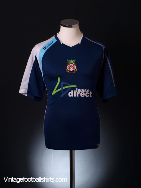 2007-08 Wrexham Away Shirt L