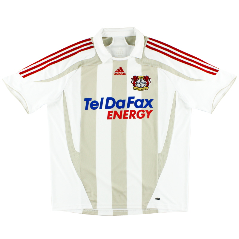 2007-09 Bayer Leverkusen Away Shirt XL - 687969