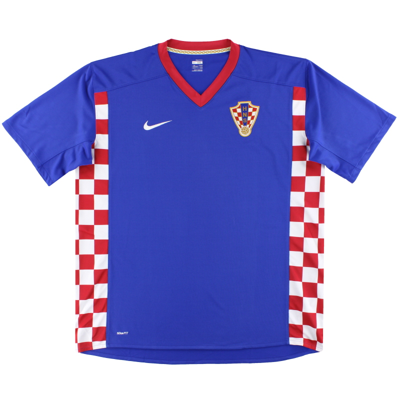 2007-09 Croatia Nike Away Shirt *Mint* XXL - 258969-471