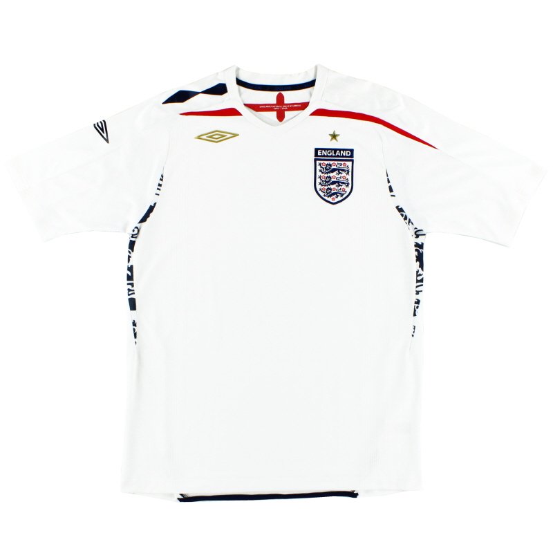 2007-09 England Home Shirt *BNWT* L