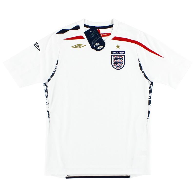 2007-09 England Umbro Home Shirt *BNIB* L.Boys - 735792