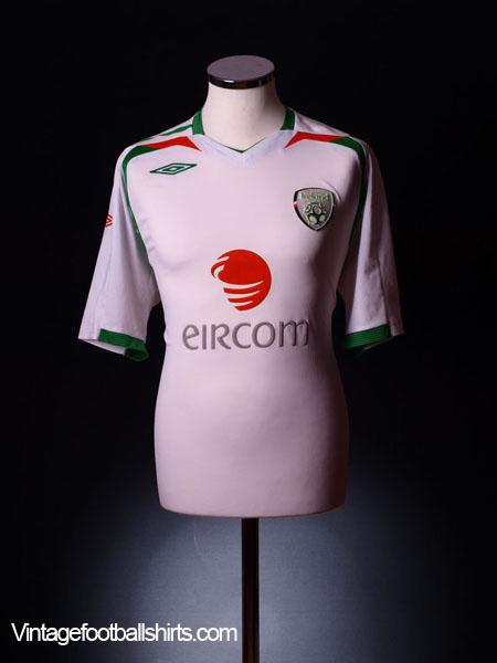 2007-09 Ireland Away Shirt XL