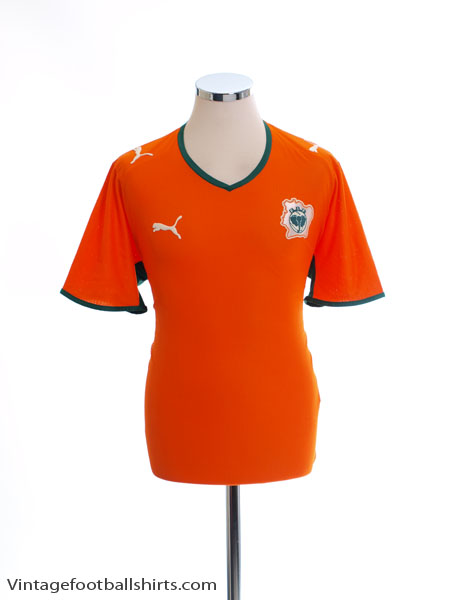 2007-09 Ivory Coast Home Shirt *Mint* XL - 733916